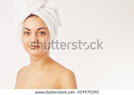 picture of beautiful woman beautiful woman in spa