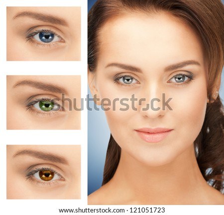 Colored Contact Lenses Stock Images, Royalty-Free Images ...