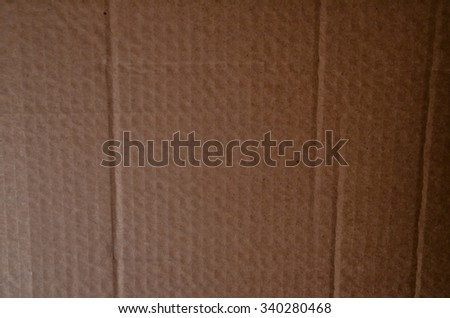Picture of Brown Cardboard Package Pattern Texture Background