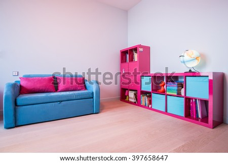 Picture of colour minimalist room for kid