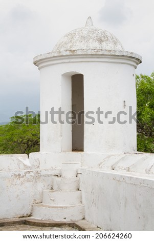 Picture of fort of San Cristobal in Gracias, Honduras, Central America
