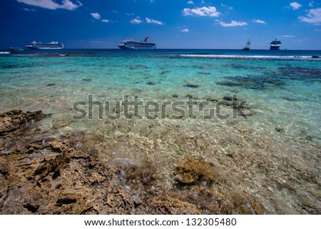Picture of Gran Cayman - stock photo