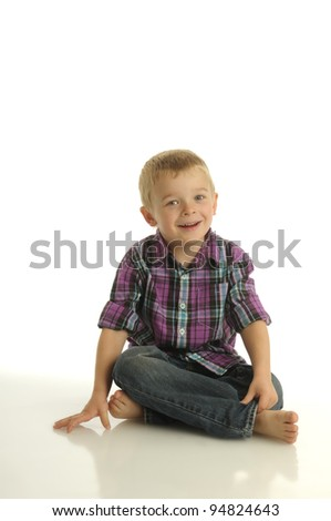 Picture of happy young boy