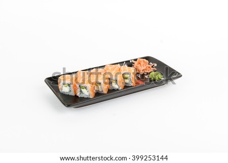 Picture of maki with salmon