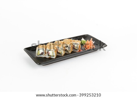 Picture of maki with tuna and onion