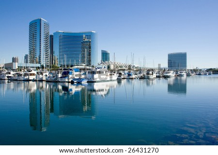 Picture of San Diego Bay in the Summer.