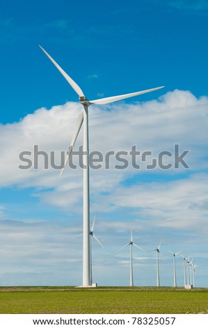picture of windmills for generating electricity