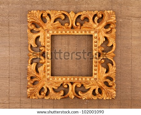 Picture photo frame - stock photo