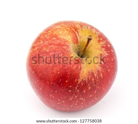 picture ripe apples - stock photo