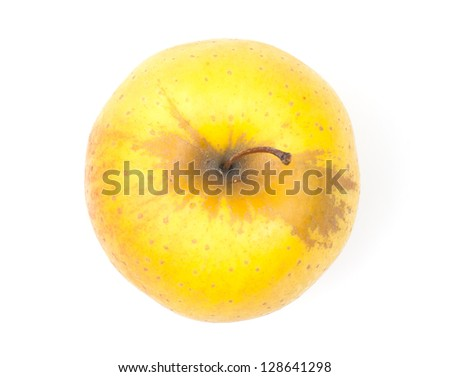 picture ripe apples - stock photo