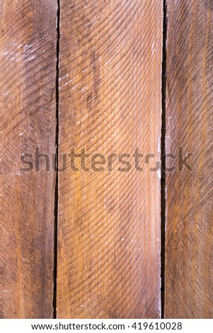 picture shows the background of wooden planks - stock photo