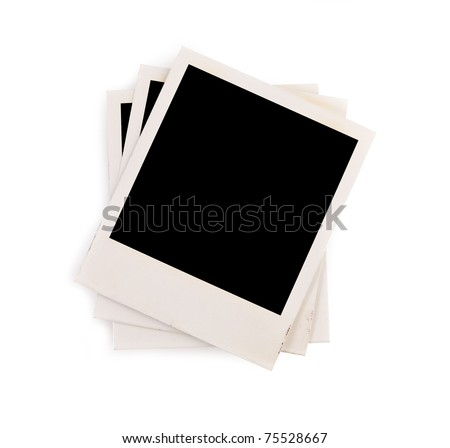 pictures on a white background - stock photo