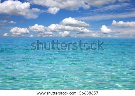 Picturesque sea landscape - stock photo