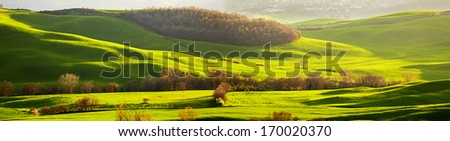 Picturesque Tuscany landscape  - stock photo