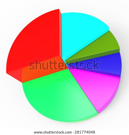 Pie Chart Meaning Business Graph And Data