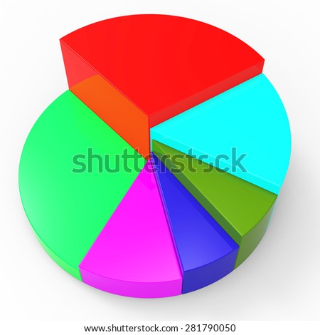 Pie Chart Meaning Business Graph And Investment