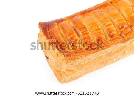 pie isolated on white background