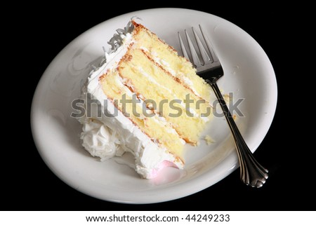 Piece of cake - stock photo