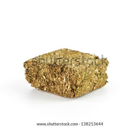 Piece of cannabis,Herbal medicine - stock photo