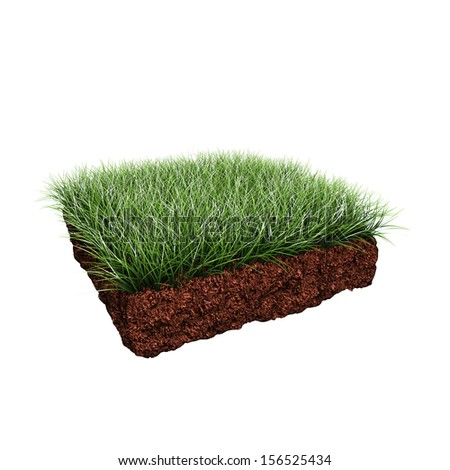 Soil grass stock photos images pictures shutterstock for Soil and green