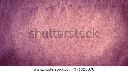 Piece of new purple thick paper. Paper texture or background - stock photo