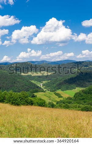 Pieniny in Summer