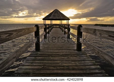 Pier in North Carolina