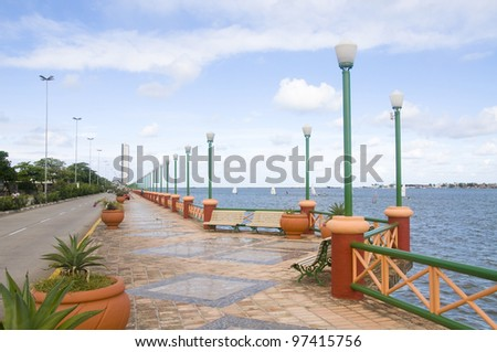 Pier Jose Estelita - Recife - Brazil - stock photo