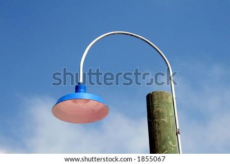 Pier Lamp - stock photo