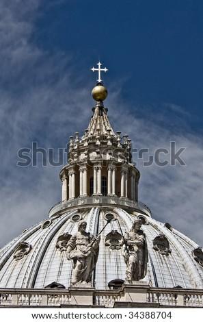 Pietro cupola - stock photo