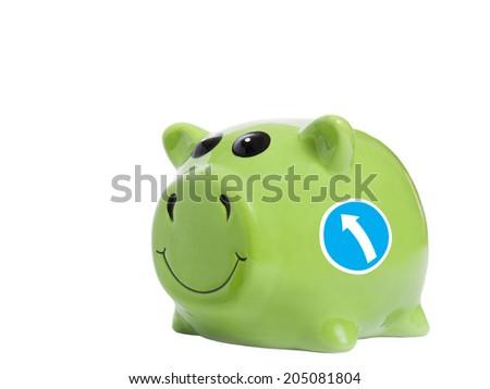 Piggy bank concept - stock photo