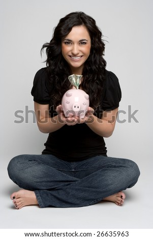 Piggy Bank Girl