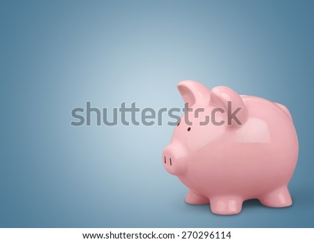 Piggy Bank. Piggy Bank Savings - stock photo