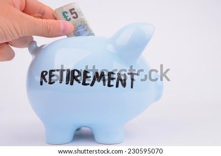Piggy Bank Savings - stock photo