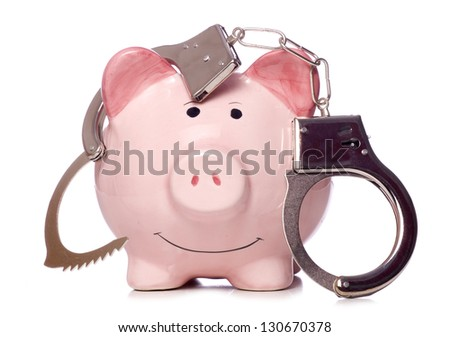 Customer Invoicing Excel Tax Avoidance Stock Images Royaltyfree Images  Vectors  Guacamole Receipt Excel with Toll By Plate Invoice Piggy Bank With Handcuffs Studio Cutout Free Basic Invoice Template Word