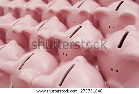 Piggy Banks - stock photo