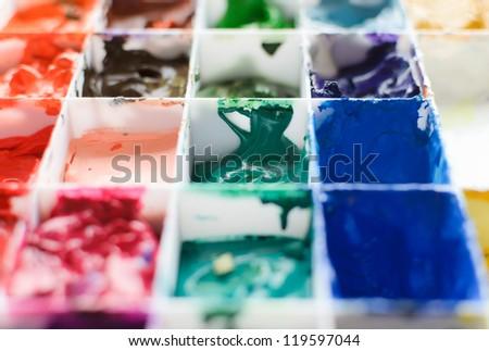 pigment - stock photo