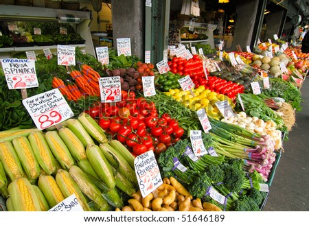 Pike Place Market - stock photo