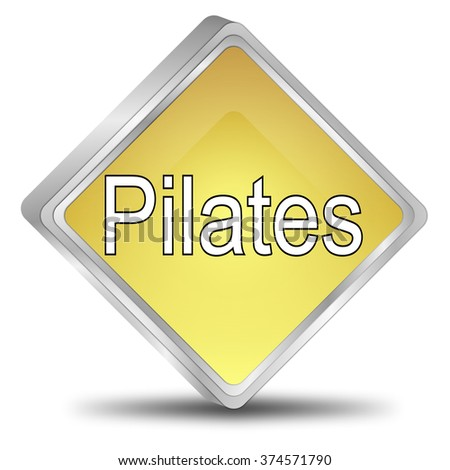 Pilates button