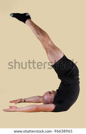 Pilates Position - Jack Knife
