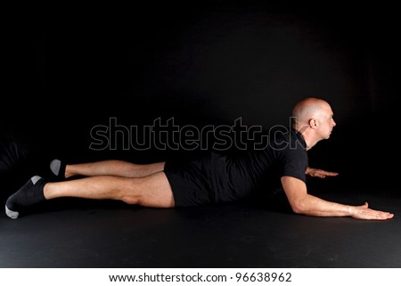Pilates Position - Swan Dive