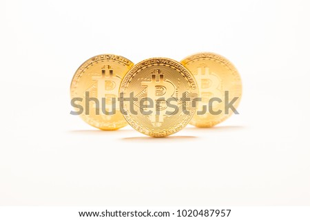 Pile of Bitcoins