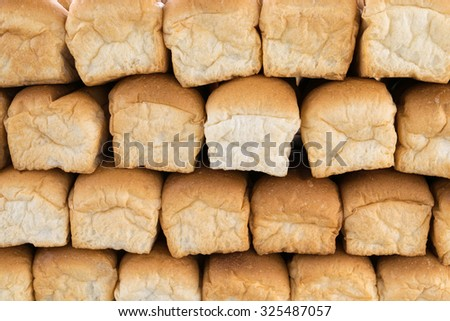 pile of bread rolls