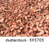 Pile of bricks - stock photo
