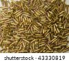 Pile of bullets background - stock photo