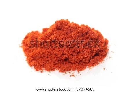 Pile of chili powder