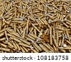 Pile of gun bullets  3d render. - stock photo