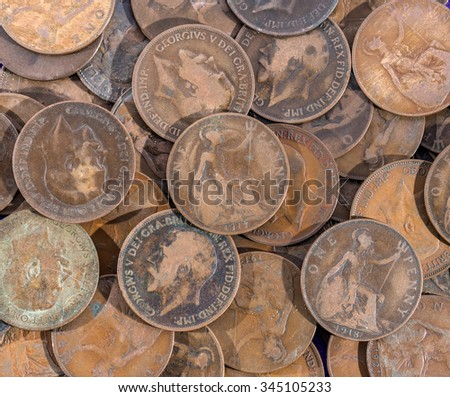 dirty penny cartoon