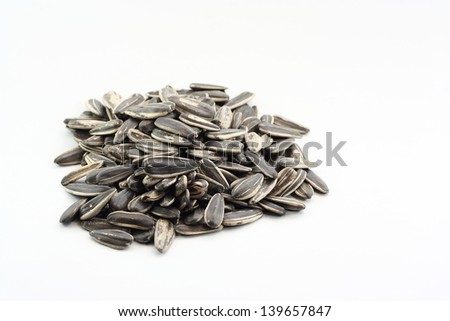 pile of sun flower seed