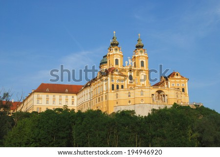 Pilgrimage Church of Melk in Austria